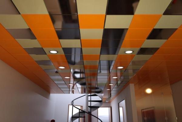 Подвесные потолки (100 фото) - идеи дизайна потолков в ...