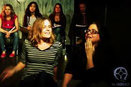 Director Sarah Doyle & Jennifer Maisel after OUT OF ORBIT Tactical Read