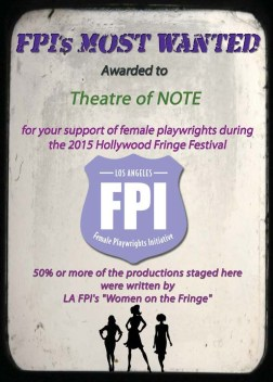 NOTE Fringe Award