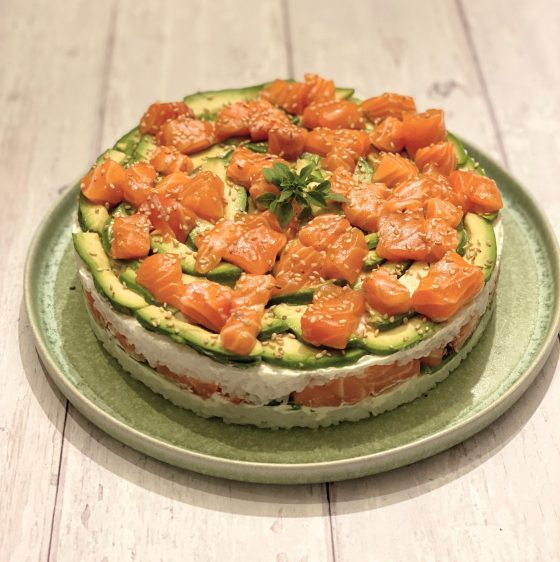 la frenchette sushi cake