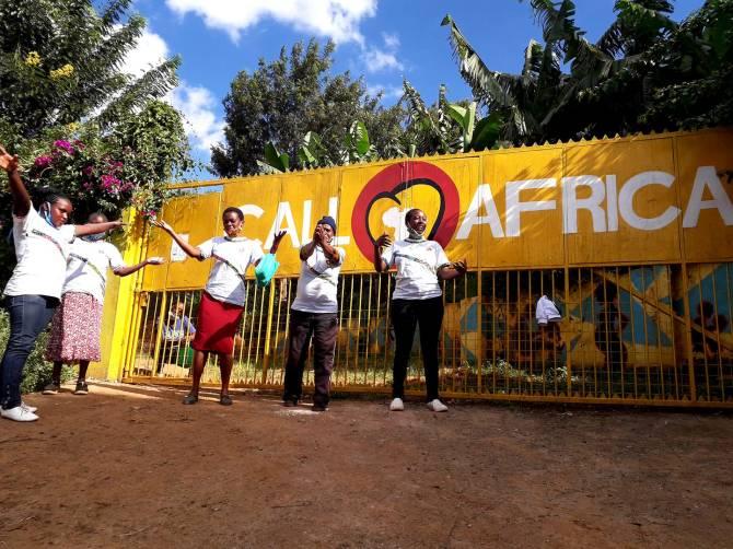 foto degli operatori del Centro Shalom di Soweto in Kenya