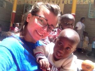 foto di Matilde Giunti cooperante in Kenya de LAfrica Chiama ONG