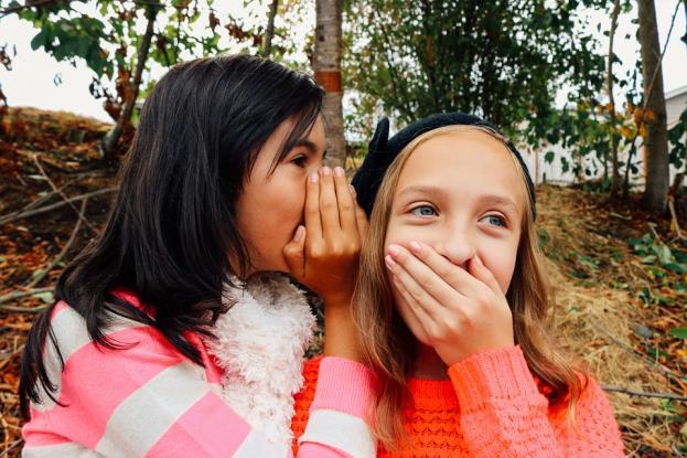 Girls, Whispering, Best Friends, Young, Teen, Secret