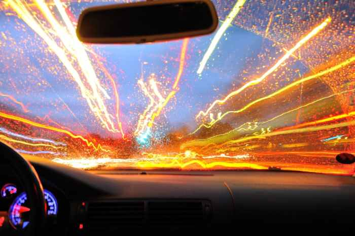 car, driving, light