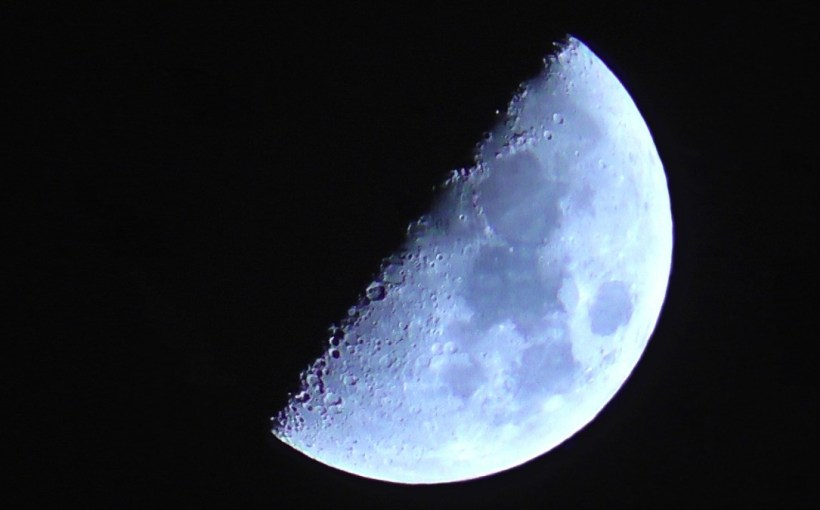 atmosphere moon outer space moving astronomy lunar detail turning moon by night astronomical object earth's natural satellite impact craters distance shot