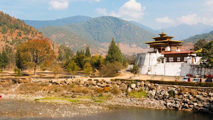 Bhutan, Pagoda, Buddhism, Religion, Landscape