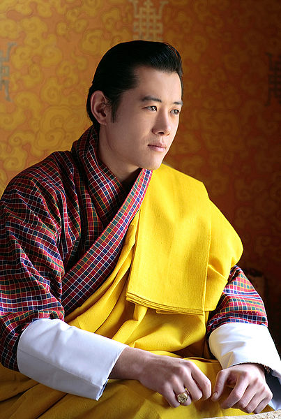 File:King Jigme Khesar Namgyel Wangchuck (edit).jpg
