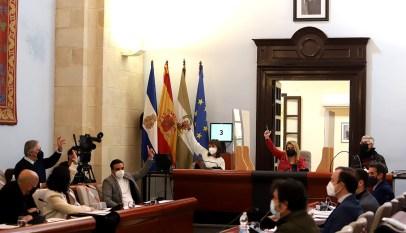 alcaldesa Pleno Municipal Febrero 2021