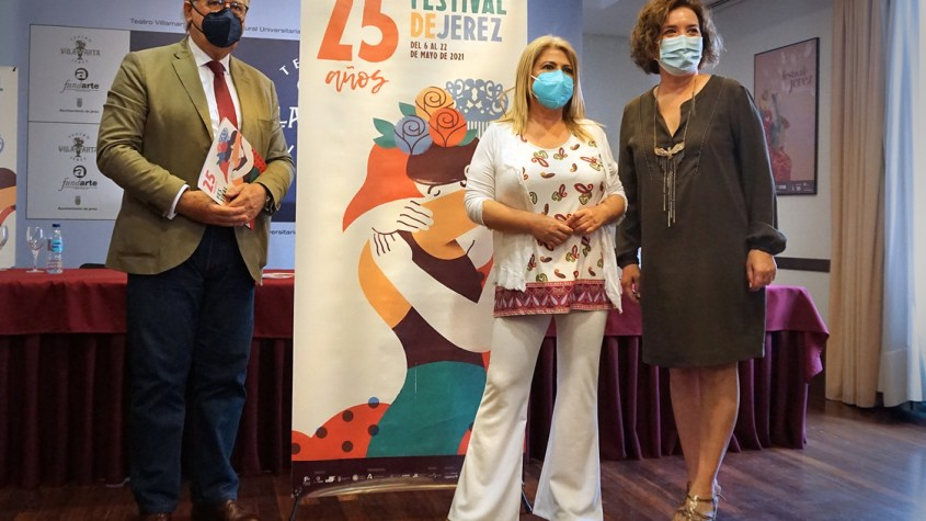 Alcaldesa rueda de prensa Festival de Jerez