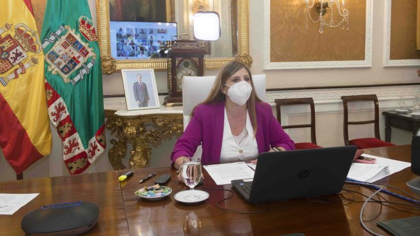 Diputación Irene García en el Pleno de mayo