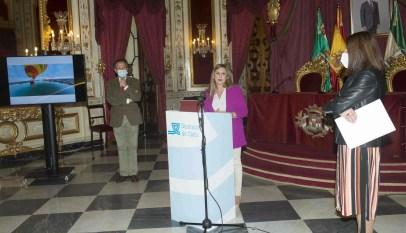 Irene Garcia presenta el programa de FITUR