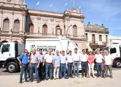 Se presentaron nuevas maquinarias para la recolección de residuos y una mini-cargadora