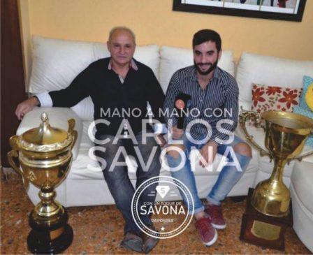 Entrevista a Carlos Savona: historia, trayectoria, anécdotas