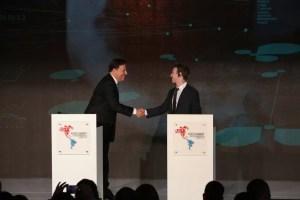 Presidente de Panamá y Fundador de Facebook celebran el inicio del Internet.org