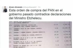 Álvaro Alvarado desmiente declaraciones del Ministro de Vivienda y es atacado