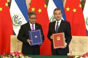 El Salvador establece relaciones diplomáticas con China