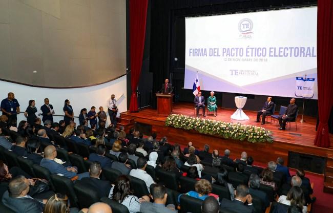 Firman Pacto Ético Electoral de cara al proceso electoral de 2019