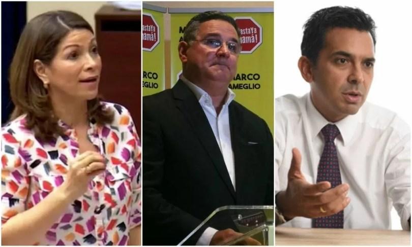 Ana Matilde Gómez, Marco Ameglio y Ricardo Lombana serán los candidatos a Presidente por Libre Postulación