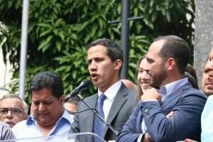Juan Guaidó anuncia la toma de control de activos de Venezuela en el exterior