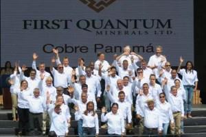 Minera Cobre Panamá celebra su primera molienda