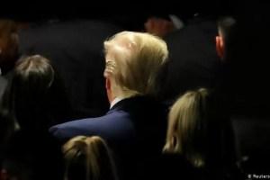"""Trump: """"nada"""" inquieto por amenaza de destitución"""