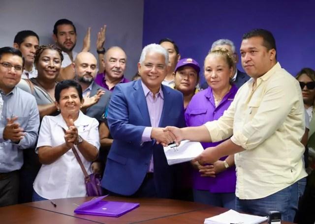 Convencionales Panameñistas apoyan a Blandón y exigen la renovación de la directiva
