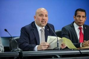 Ministros Mirones y Romero presentan informe sobre la reyerta en la Joyita