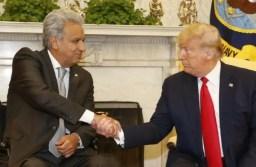 Presidente ecuatoriano Lenín Moreno se reúne con el Presidente Donald Trump