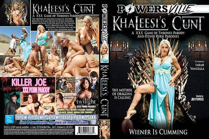 Khaleesi's Cunt DVD Cover