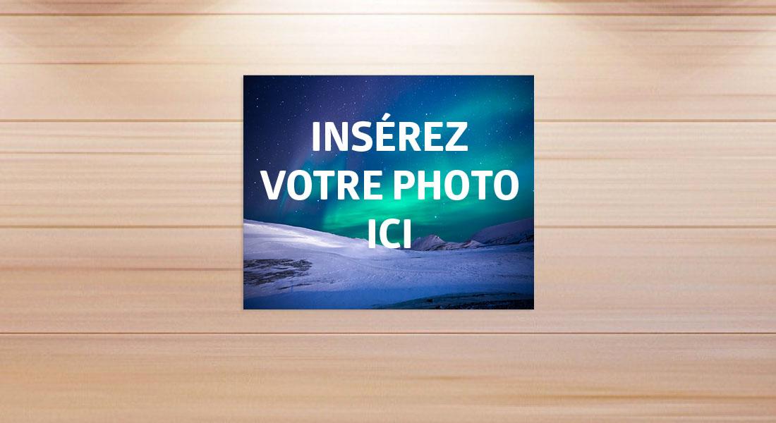 Ma photo 30 x 24 cm,sur Toile de peintre