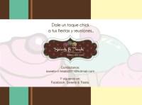 Flyer Sweet & Dreams CURVAS