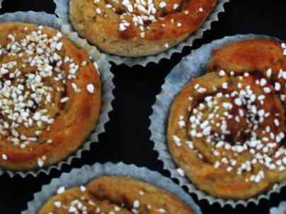 Lyckas med glutenfria kanelbullar