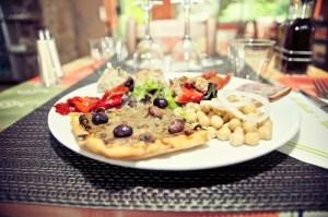 photo assiette spécialité niçoise la gaité nallino