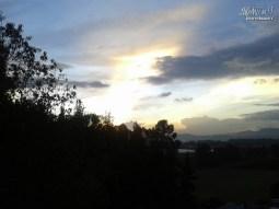El sol se despide