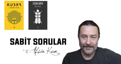 Sabit Sorular serimiz bilimkurgu yazarı Afşin Kum ile devam ediyor.