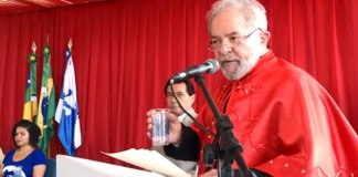 Lula recebe o Título de Doutor Honoris Causa da Universidade Federal de Sergipe em Lagarto