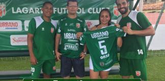 dcc33d8fc Torcedora do Lagarto Futebol Clube ganha camisa do time