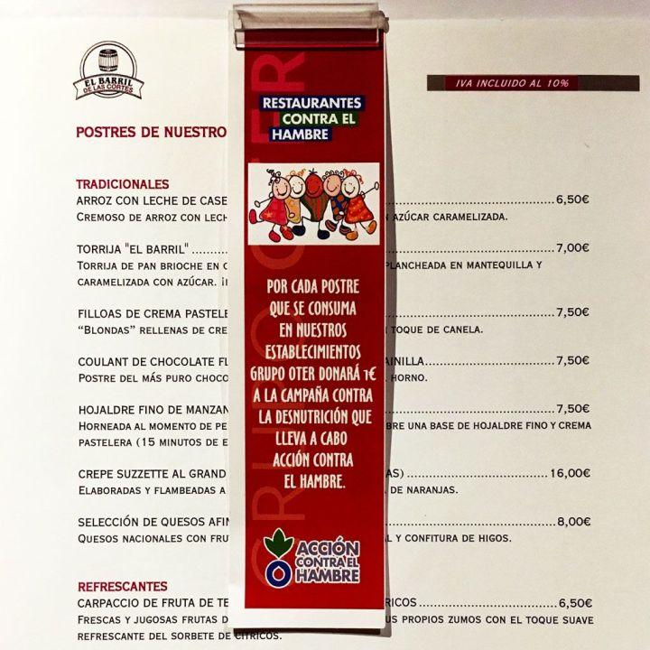 Menu-Postres-El-Barril-de-Las-Cortes-Acción-contra-el-hambre