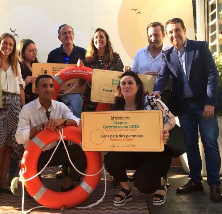 Jurado y ganadores de Gatoterrazas 2018