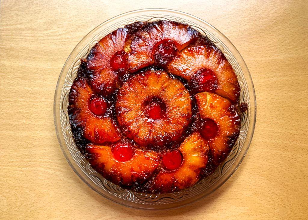 Torta de piña venezolana