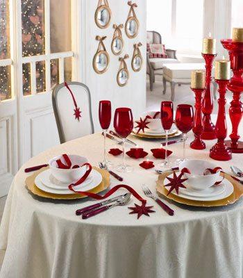 como decorar tu mesa de navidad