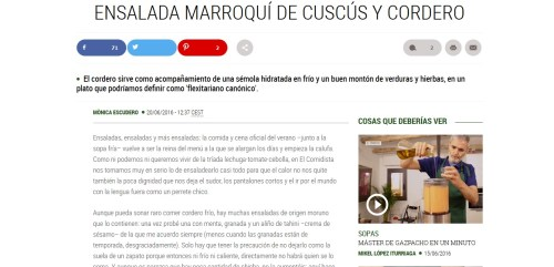 copywriting, redaccion de textos, restaurantes, como escribir bien, como hacer un blog, el comidista, mikel iturriaga