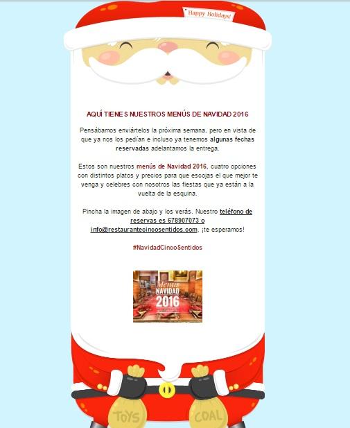 C mo promocionar los men s de navidad de tu restaurante - Menu de cenas navidenas ...
