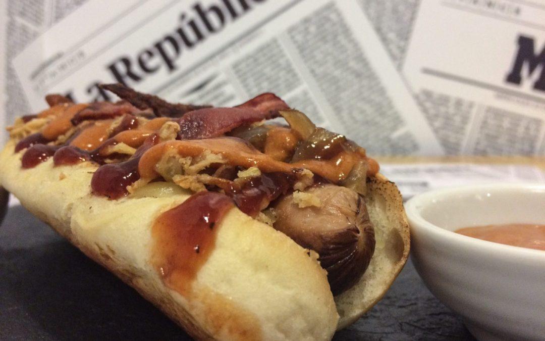 Paperboy: el arte del perro caliente (hot dog)