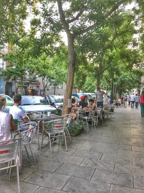 terrazas madrid, terrazas, cenar en madrid, restaurantes con terraza madrid, terrazas con encanto, las mejores terrazas de madrid, calle argumosa, lavapies