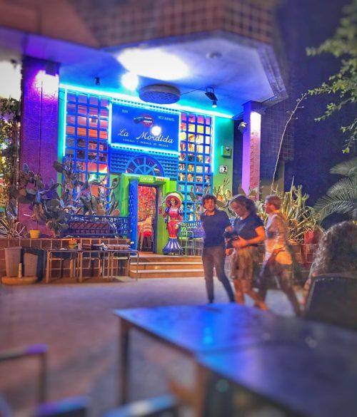 terrazas madrid, terrazas, cenar en madrid, restaurantes con terraza madrid, terrazas con encanto, las mejores terrazas de madrid, la mordida, restaurantes mexicanos madrid