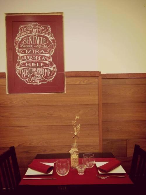 mesa en cinco sentidos san valentin, restaurantes románticos