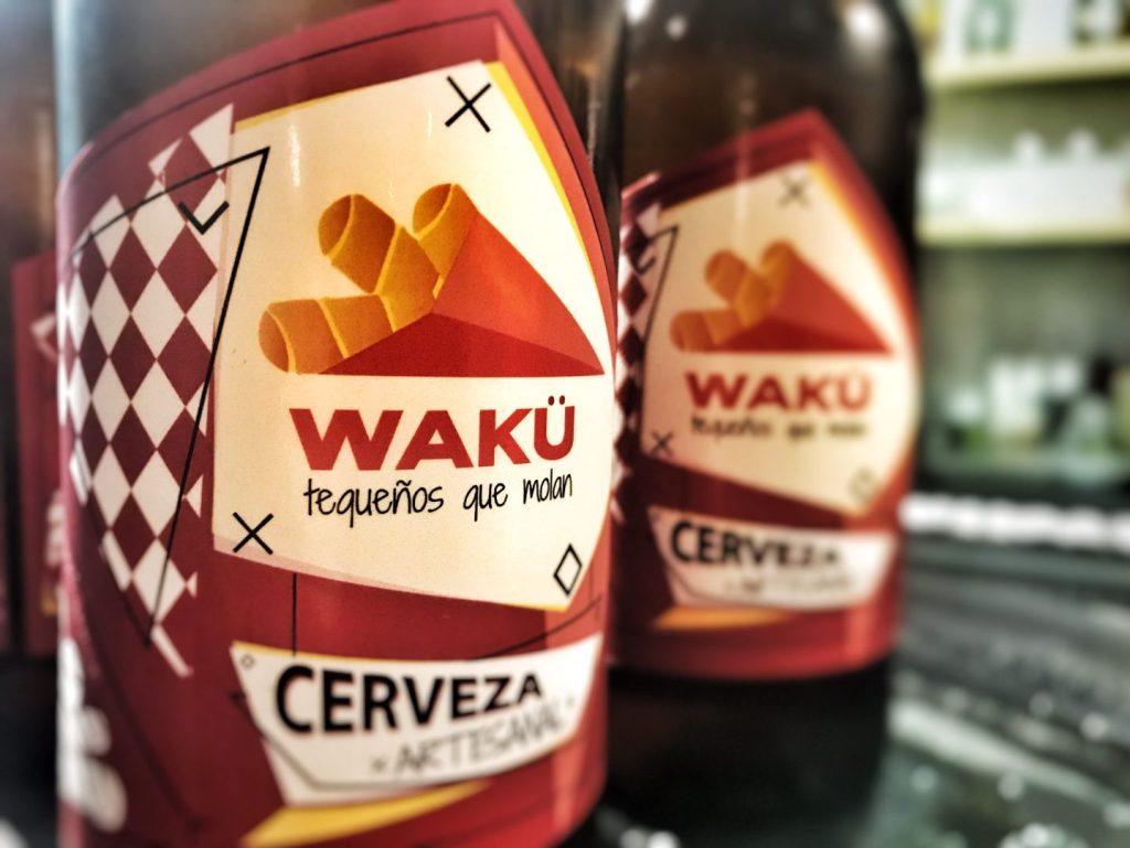 Cerveza artesana Wakü
