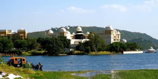 Lago Pichola en Udaipur