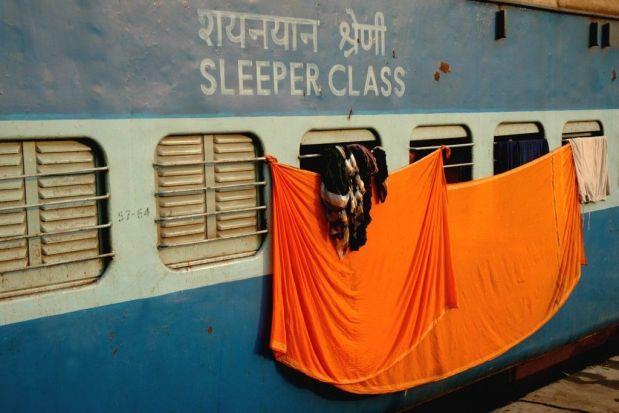 Clases de Tren en India